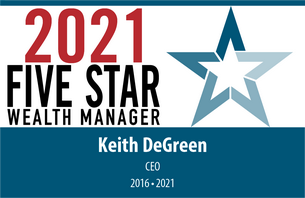 2021 Five Star Wealth Manager, Keith DeGreen